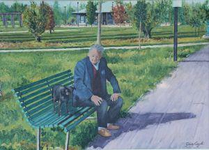 P2 Nonno con cagnolino al parco Centenario